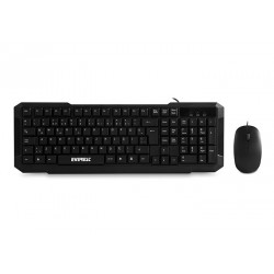 Everest Klavye+Mouse Set Km-515 Siyah